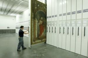 Prado; obras; depósitos arte