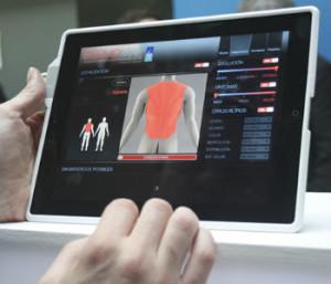 Captura de la App Dermomap