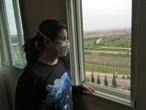 Enferma de SQM y SFC, entrevista en su vivienda
