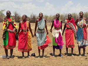 Muchas mujeres masáis son mutiladas entre los 4 y los 14 años