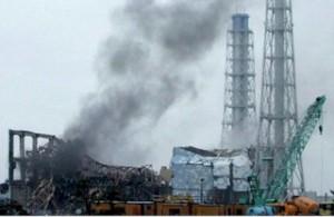 Explosión tras Tsunami
