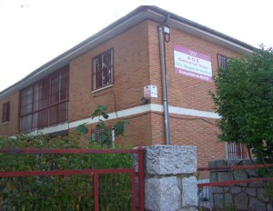 La fachada del centro de Aula de Compesación Educativa