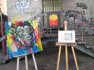 jóvenes artistas, bellas artes, arte