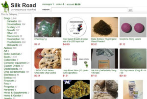 drogas, Silk Road, Deep Web