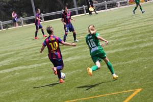 Sonia Bermúdez, Barça, Levante, Futfem