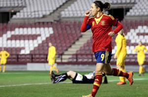 Vero Boquete, selección Española, Futfem