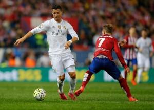 Cristiano Ronaldo, Antoine Griezmann, Real Madrid, Atlético de Madrid