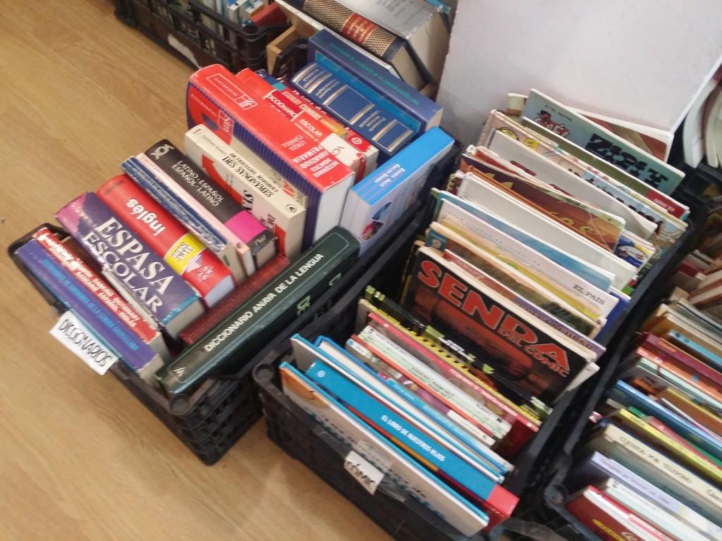 Tuuulibrería: diccionarios y cómics