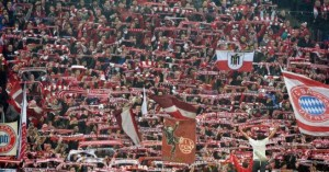 Afición del Bayern en Bundesliga
