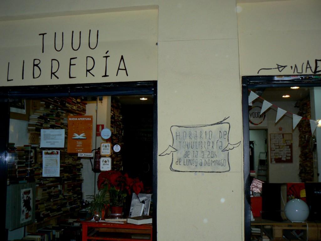 Tuuulibrería: local ubicado en Chamberí (Madrid)