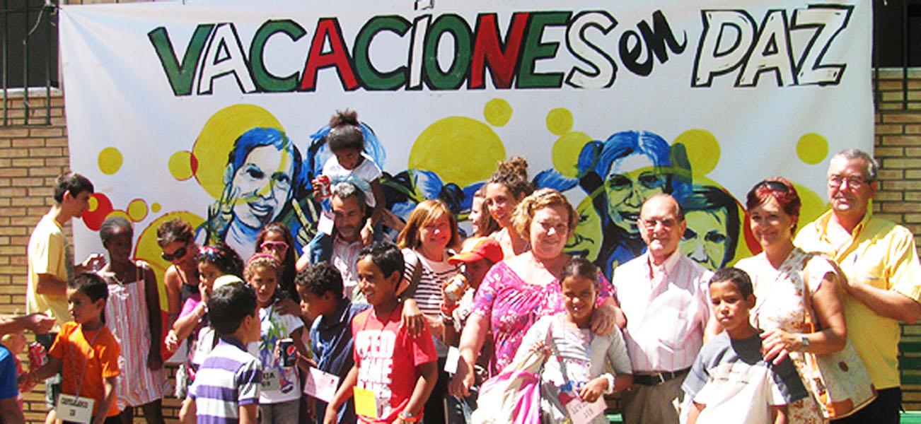 Llegada de los niños a España