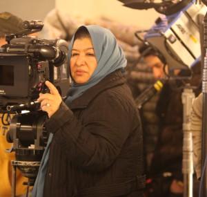Cultura, islam, musulman, libertad de expresión, cine iraní, censura, mujer tapada, pañuelo, hiyab, directora de cine