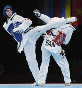 Nicolás García, subcampeón olímpico de taekwondo