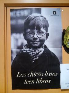 Poster Librería Las Letras