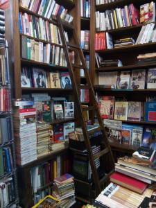 Interior Librería Pérez Galdós