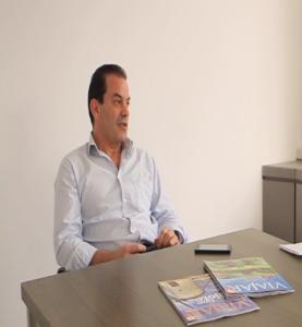 Luis Uribarri redactor jefe Viajar