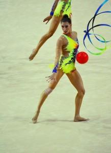 Sandra Aguilar, deportista olímpica