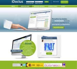 Página web iDoctus
