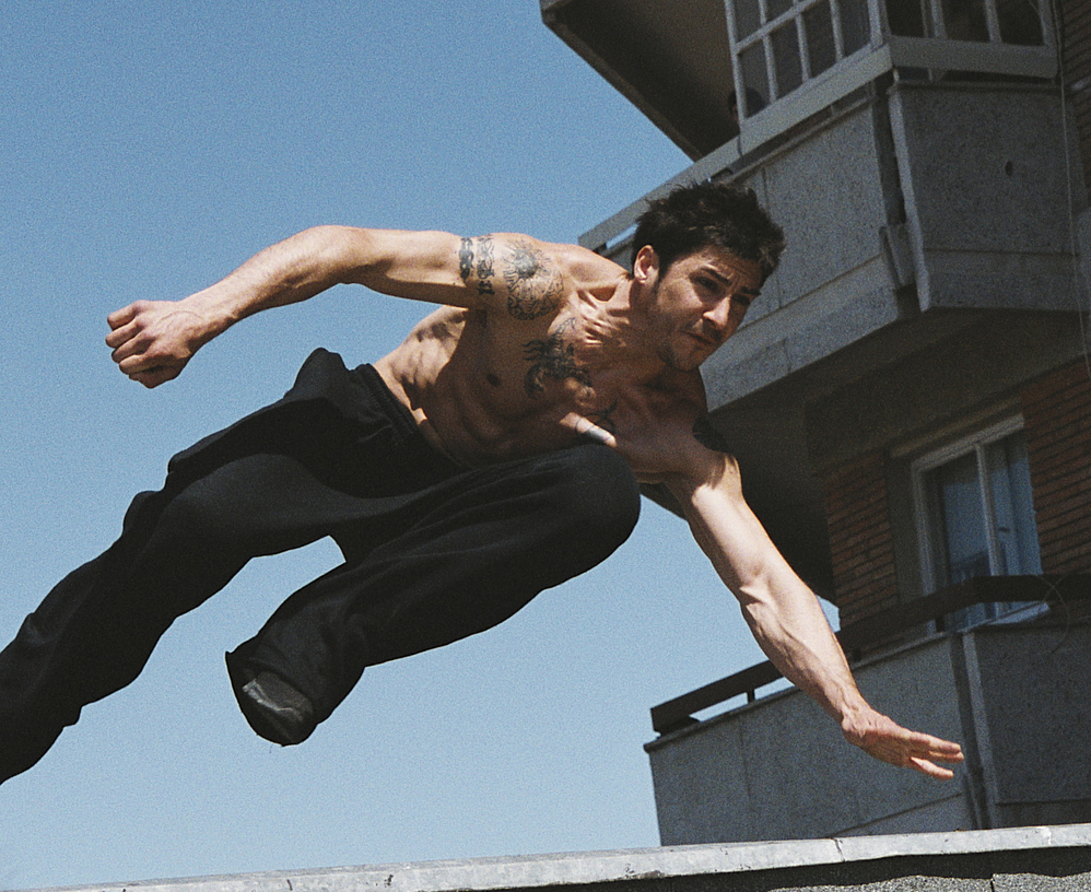 david belle, parkour, salto, Freerun, speed vault