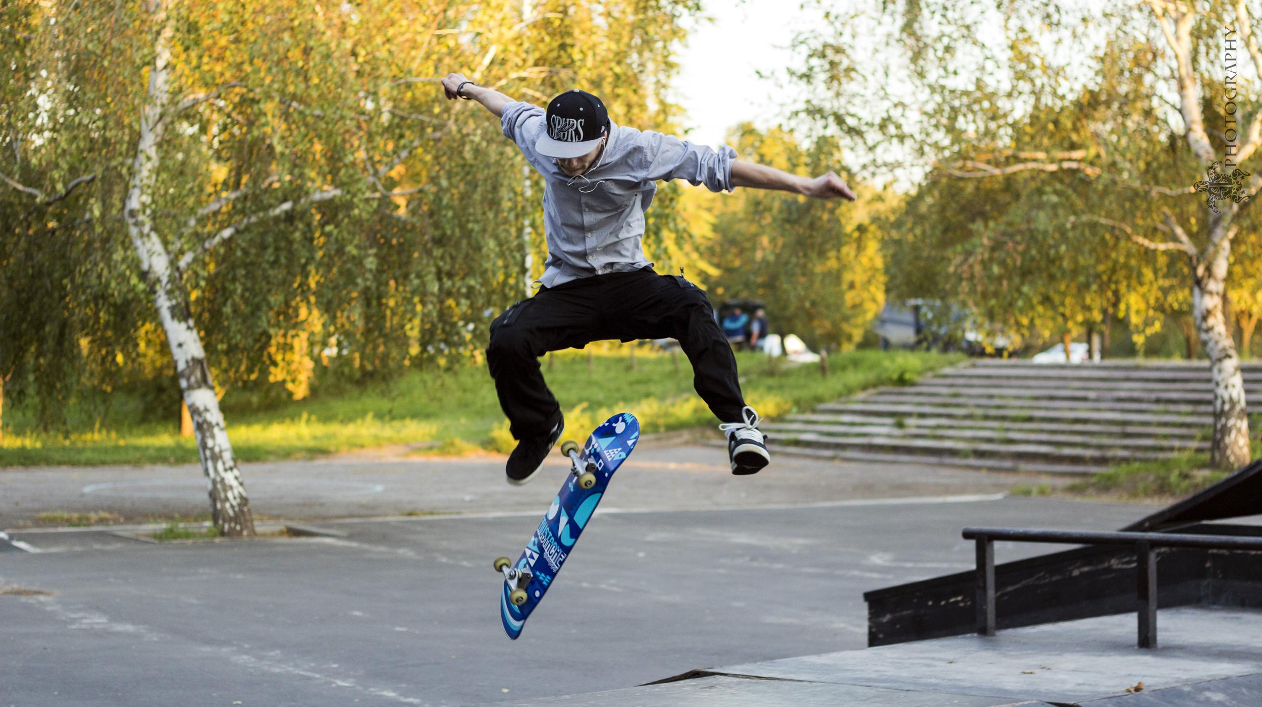 Trick, Skate, Parque, Urbano, skatepark, kickflip, truco