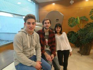 Daniel Sevillano, Natalia García, Gonzalo Jarabo, Cristina Arias