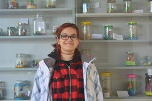 Noelia Príncipe, estudiante de magisterio en la UAM/Variación XXI