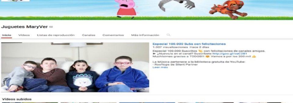 Los niños youtubers que triunfan en la red