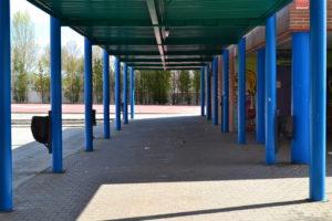 Patio del instituto I.E.S. Europa / Beatriz González