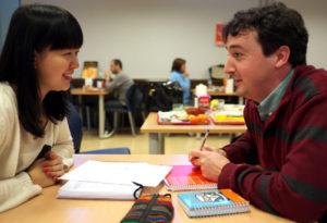 Estudiantes Chinos UCM