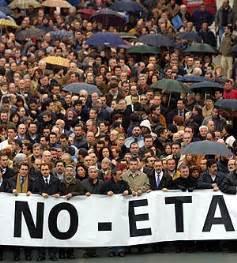 ETA, Terrorismo, Manifestación, Protesta