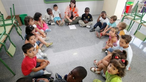 Integración, diversidad, niños, educación