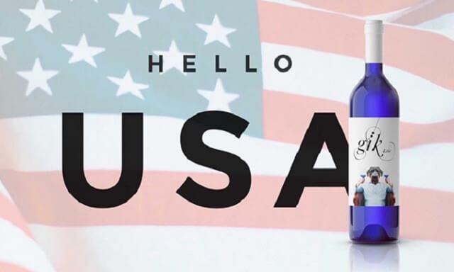 Llegada del vino azul a EEUU | Gik USA