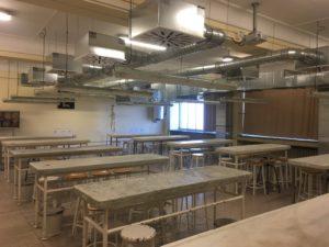 Actualmente, el antiguo Departamento de Anatomía forma parte del Centro de Donación de Cuerpos