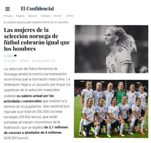 Fútbol Femenino Mujeres Igualdad Slarial Visibilidad