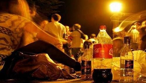 Alcohol: un problema entre los menores