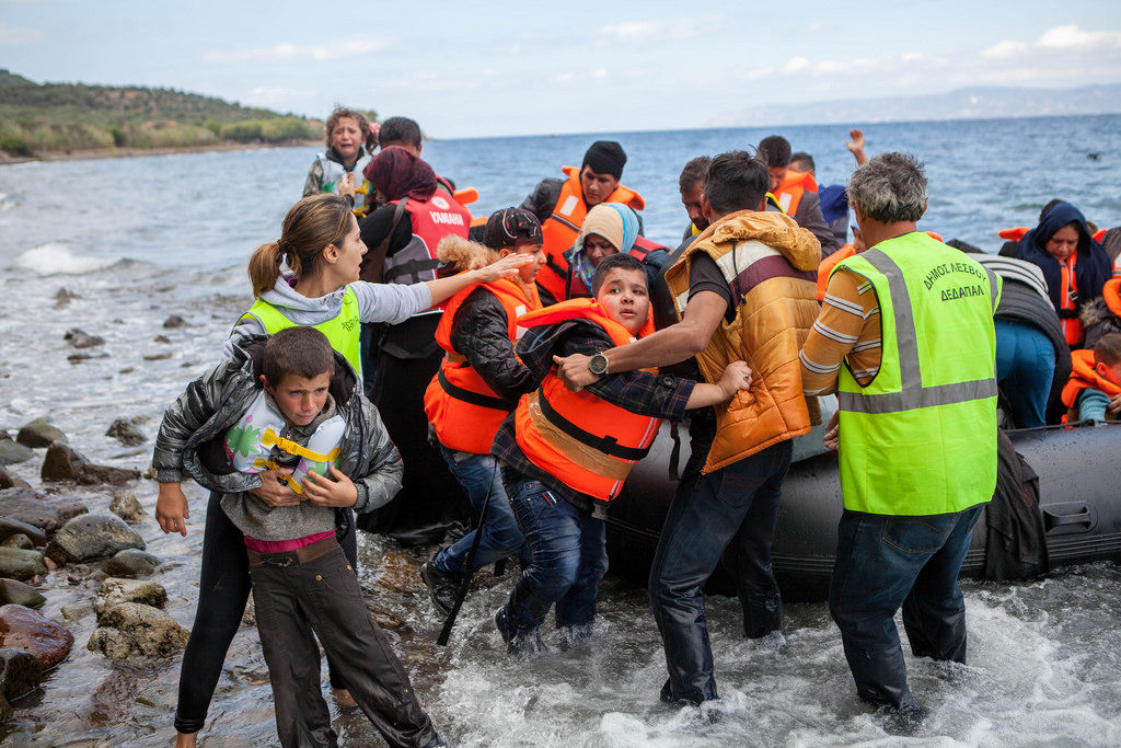 Refugiados Inmigrantes Europa