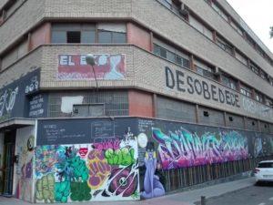 Casa okupa El EKO (Carabanchel)