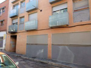 Fachada casa okupa Calle José Garrido (Carabanchel)