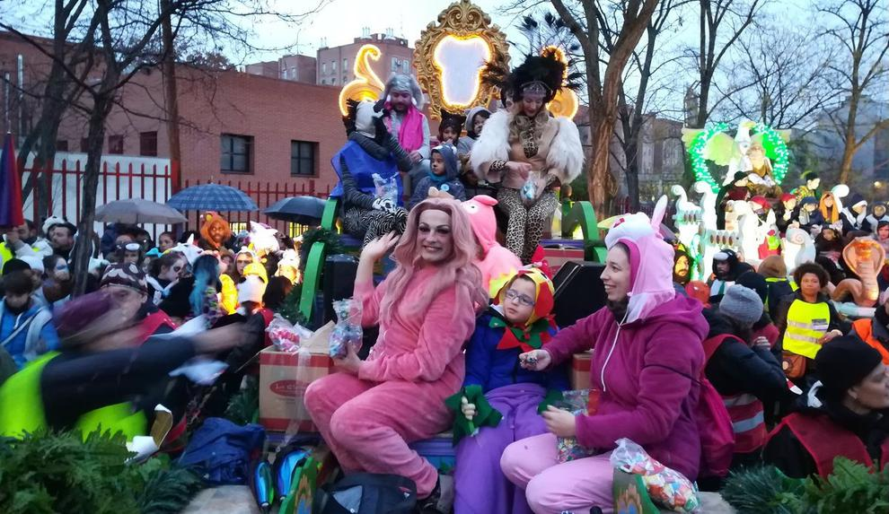 drag queens travestis La Prohibida Cabalgata Vallecas
