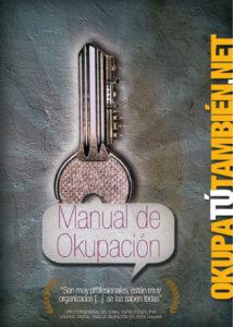 """Portada del libro """"Manual de okupación"""""""